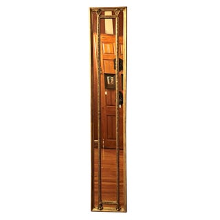 Antique Gold Leaf Pier Mirror, Circa 1890-1900. For Sale