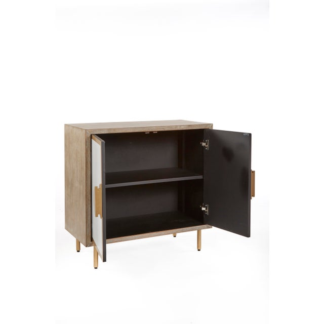 Art Deco Modern Positano Accent Cabinet For Sale - Image 3 of 6