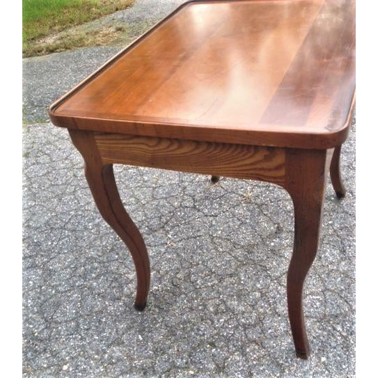 French Rustic Ash Writing Table For Sale - Image 4 of 10