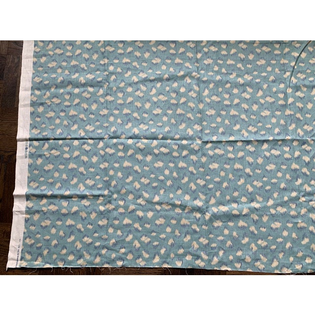 Lee Jofa 1 Yard Groundworks Feline Linen Fabric For Sale - Image 4 of 8