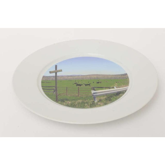 """Upstate Collection"" Porcelain Charger/Serving Plate - Image 6 of 8"