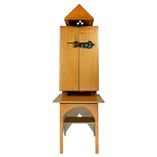 Cabinet and Desk by Jan De Swart For Sale