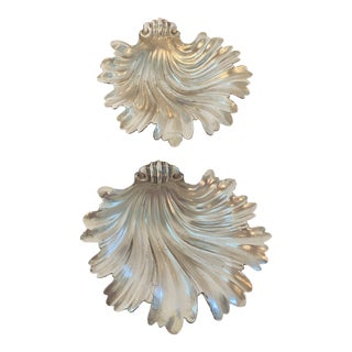 Vintage Shell Form Dishes - a Pair For Sale
