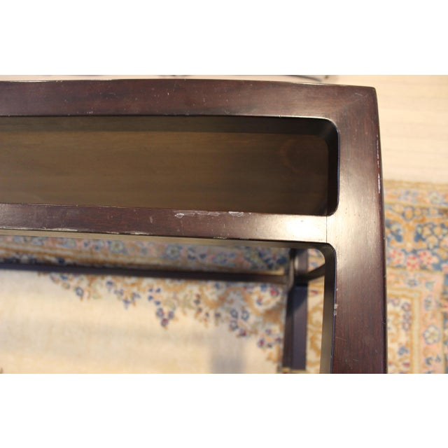 Mid-Century Modern Wormley for Dunbar Rare Mahogany Rectangular Coffee Table For Sale - Image 9 of 13