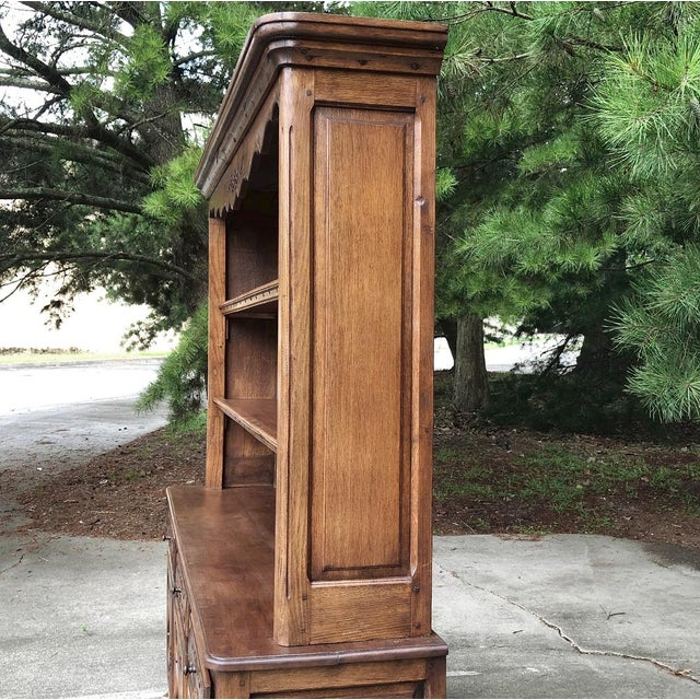 19th Century Country French Vaisselier ~ Buffet For Sale In Dallas - Image 6 of 13