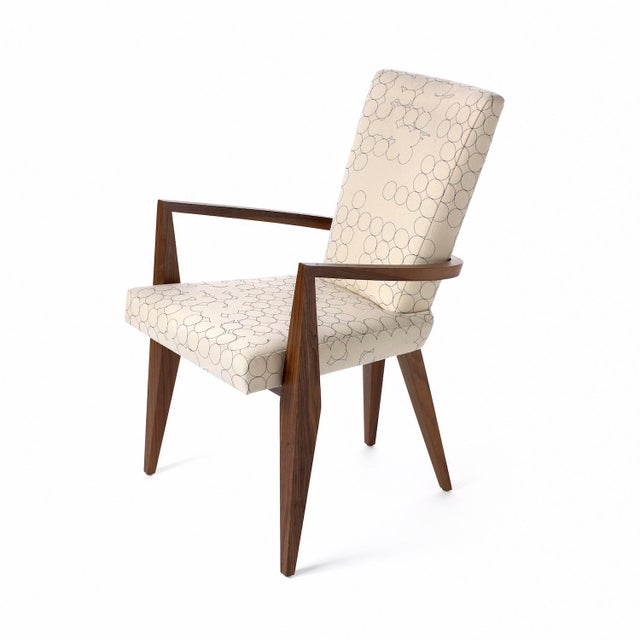 Contemporary The Vincent Arm Dining Chair by Studio Van Den Akker For Sale - Image 3 of 3
