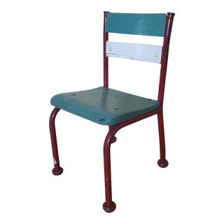 Vintage Child's School Chair For Sale