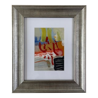 Abstract Expressionist Painting by Selma Moskowitz For Sale