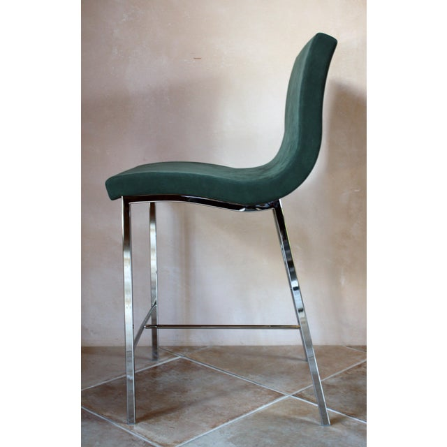 Contemporary Modern Ligne Roset Counter Stools - a Pair For Sale - Image 3 of 10