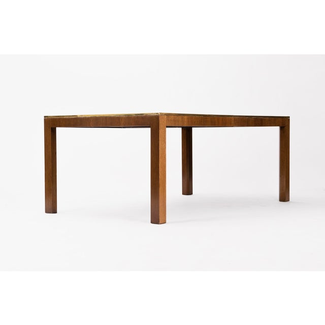 Mid-Century Modern Baker Dining Table For Sale - Image 3 of 9