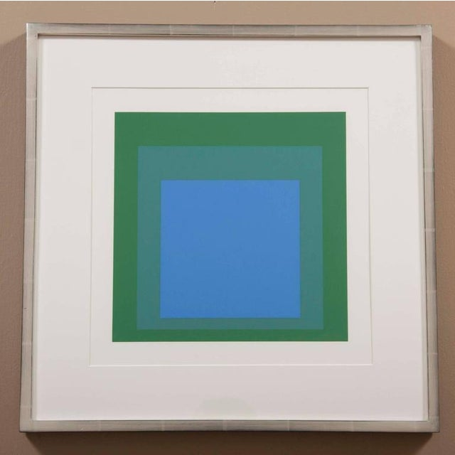 """Modern Josef Albers """"Homage to Square"""" For Sale - Image 3 of 3"""