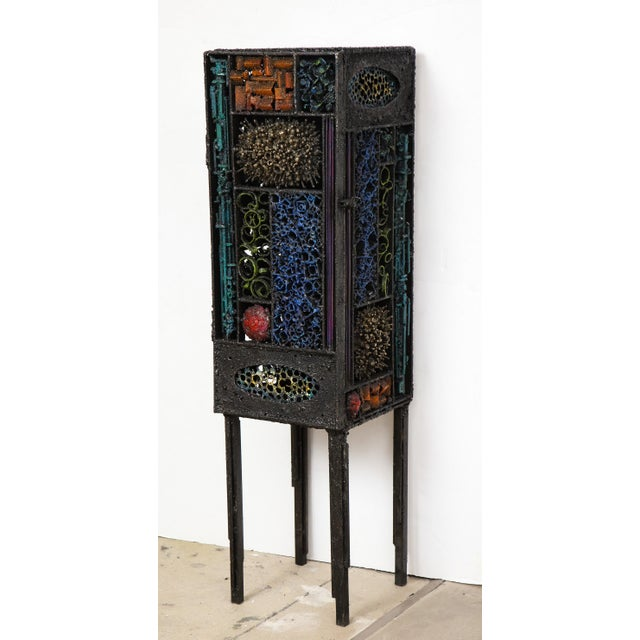 "Contemporary James Bearden ""Segment Cabinet #2"" For Sale - Image 3 of 13"