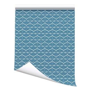 "Victoria Larson Hull Wallpaper Sample - Sailor - 10x10"" For Sale"