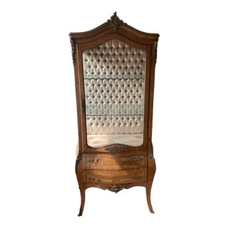 French Courier Display Cabinet For Sale
