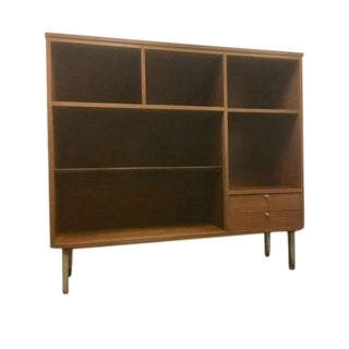 1960s Mid-Century Modern Mainline by Hooker Bookshelf For Sale