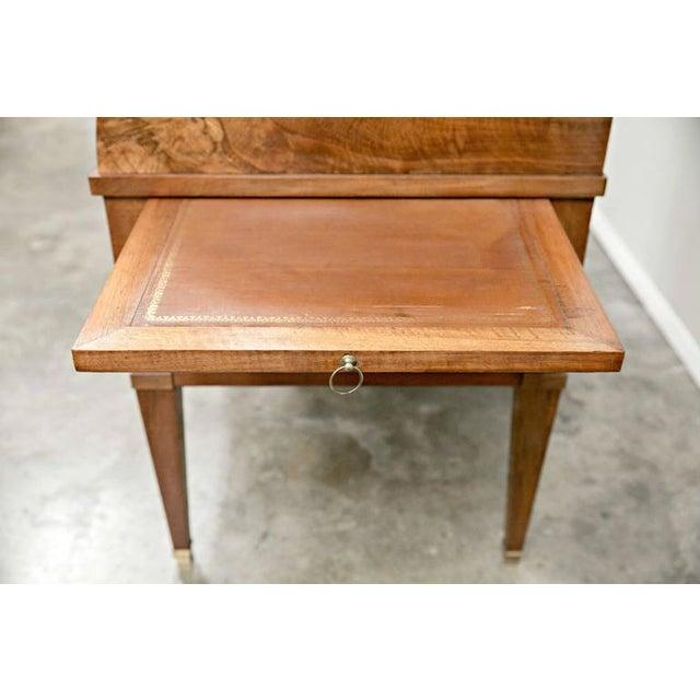 Wood 18th Century Louis XVI Period Bureau À Cylindre Cylinder Secretary Desk For Sale - Image 7 of 10