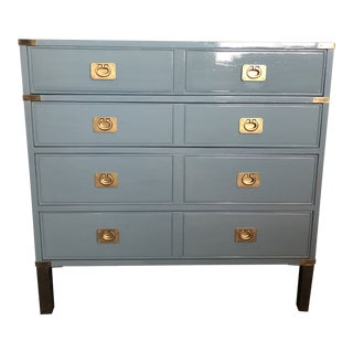 Campaign Style Bachelors Chest by Thomasville For Sale