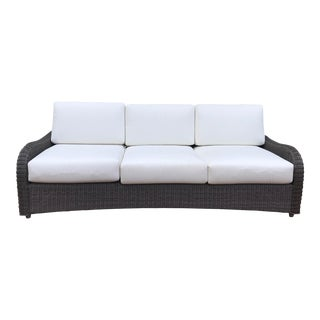 Ballard All-Weather Wicker Sofa For Sale