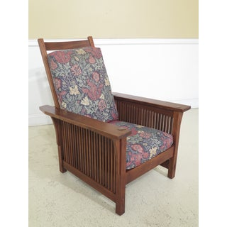 Stickley Arts & Crafts Mission Cherry Morris Chairs- A Pair Preview