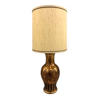 Copper Table Lamp For Sale