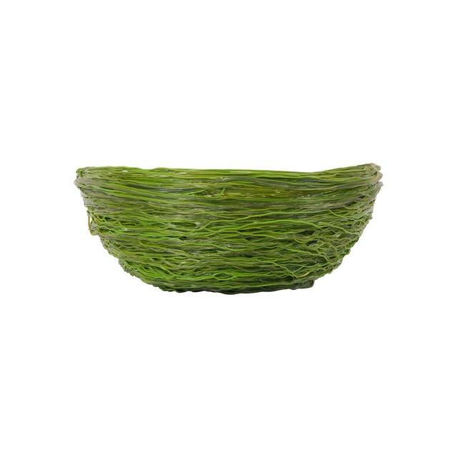 Multi-coloured resin spaghetti bowl designed by architect / designer Gaetano Pesce, Italy 1990's. Highly decorative bowl...