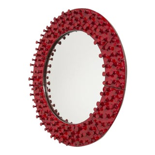 The Round Lustro Mirror by Pamela Sunday