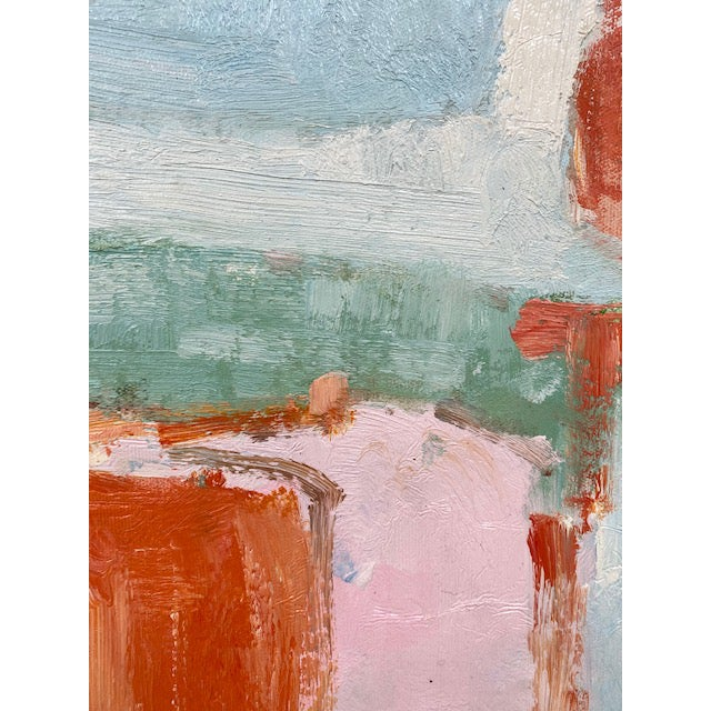 Contemporary Abstract Original Oil Painting For Sale - Image 3 of 9