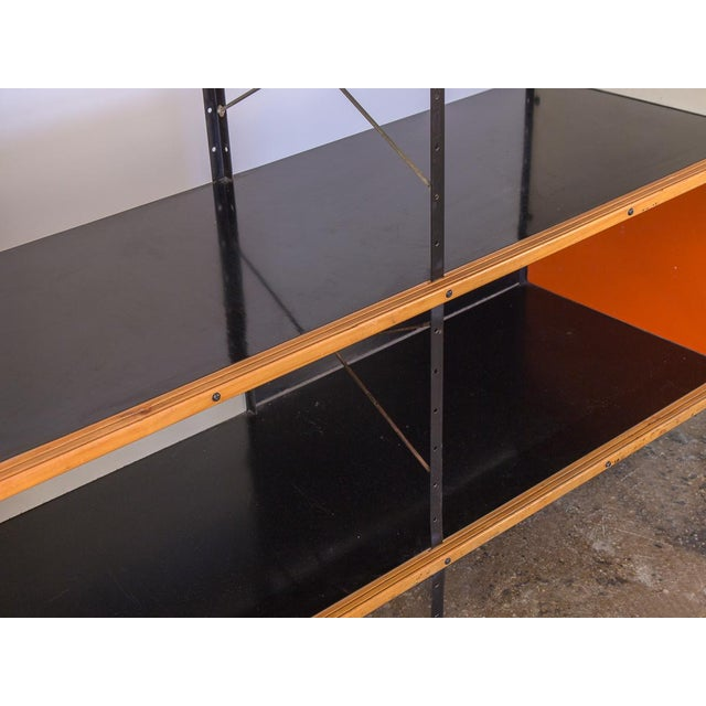 Black Charles & Ray Eames Esu 400 C Storage Unit for Herman Miller For Sale - Image 8 of 11