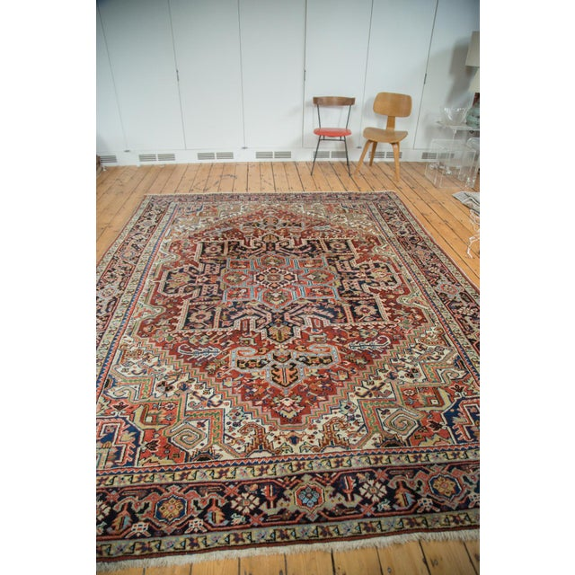 "Vintage Heriz Carpet - 8'2"" X 10'4"" - Image 4 of 10"
