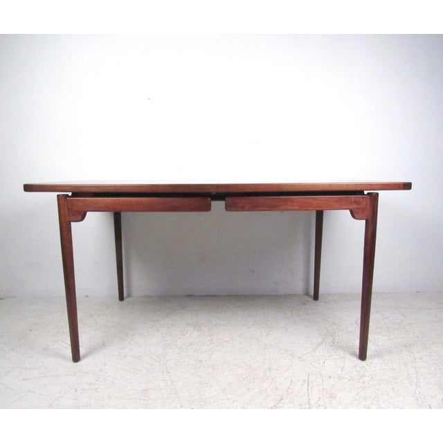 Jens Risom Danish Modern Dining Table - Image 3 of 10