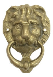 Image of Lion Door Knockers