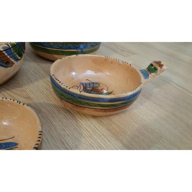Mexico Tlaquepaque Nesting Chili Bowls - Set of 4 - Image 4 of 8