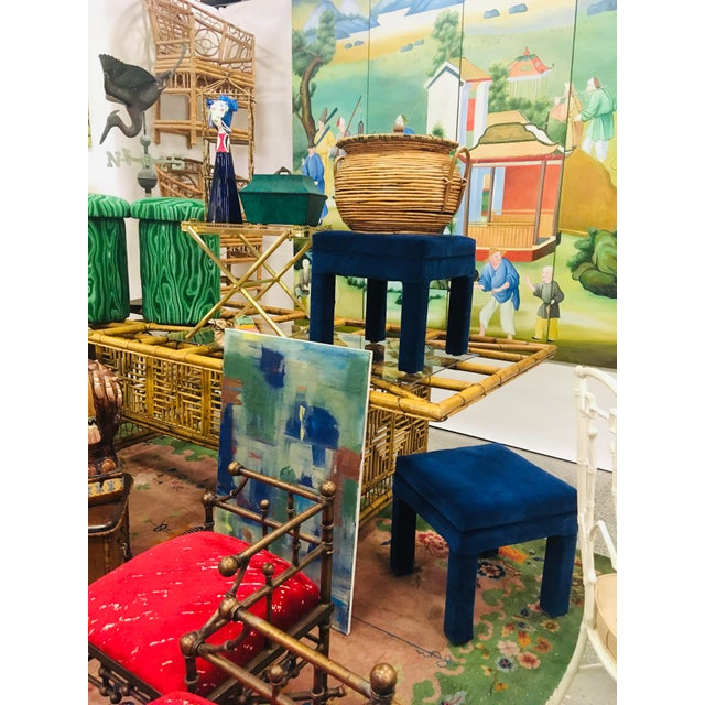 Chinoiserie Mural Painting on Panels For Sale - Image 12 of 13