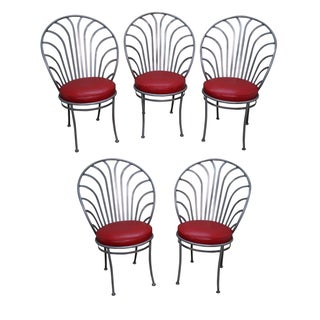 Shaver Howard Arthur Umanoff Steel Chairs - S/5 For Sale