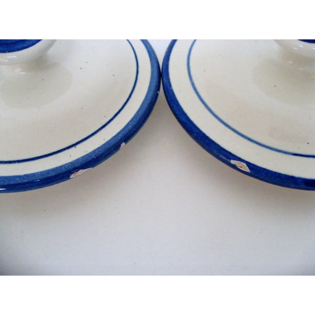 Ceramic Kitchen Canisters - A Pair - Image 5 of 6