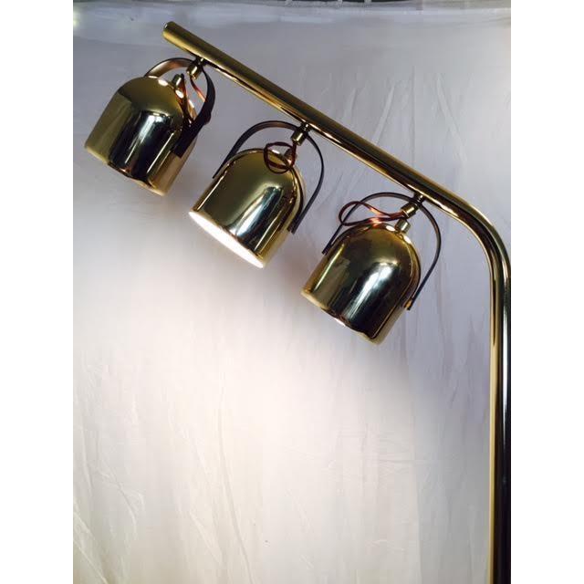 Vintage MCM Space Age Reggiani Clover Floor Lamp - Image 3 of 6