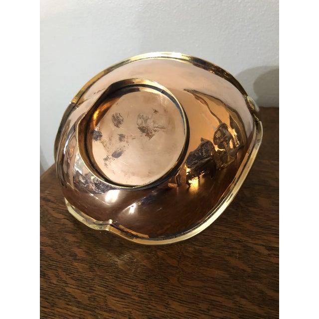 Brass 1960s Vintage Copper & Brass Swan Trinket Dish For Sale - Image 8 of 9