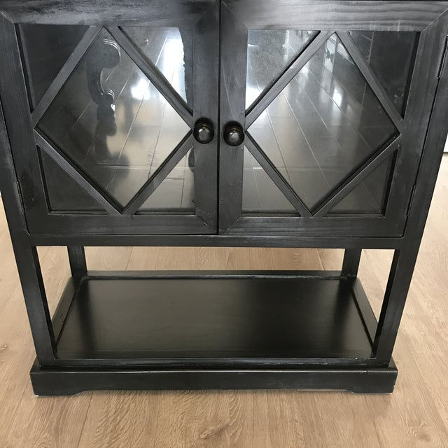 Black Contemporary Entryway Cabinet - Image 6 of 6