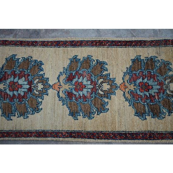 Traditional Traditional Turkoman Hand-Knotted Tan Wool Rug For Sale - Image 3 of 5