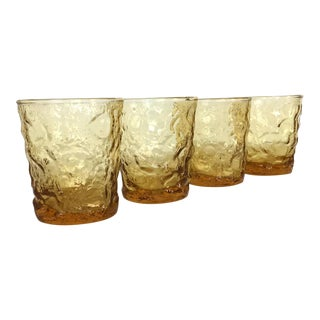 Milano Flat Tumbler - Set of 4 For Sale
