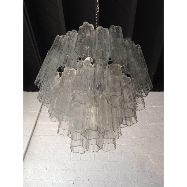 Tronchi Glass Chandelier by Venini for Murano - Image 8 of 9