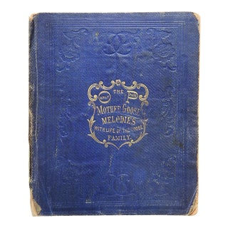 The Only True Mother Goose Melodies 1830s For Sale