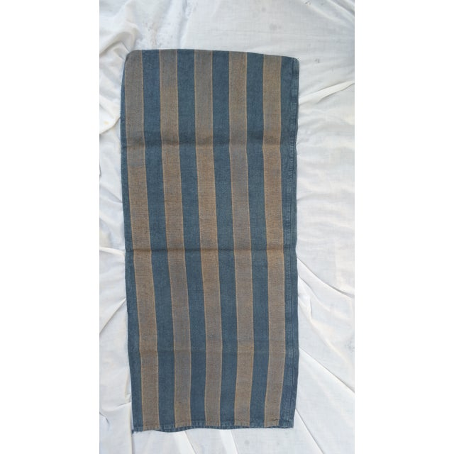 French Blue & Gray Grain Sack - Image 2 of 4