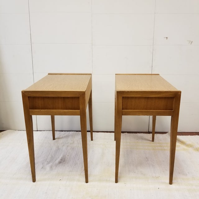 Mid-Century Basic Witz Dressing Tables - A Pair For Sale - Image 4 of 7