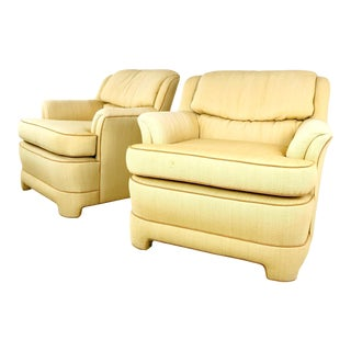 1980s Marge Carson Armchairs - a Pair For Sale
