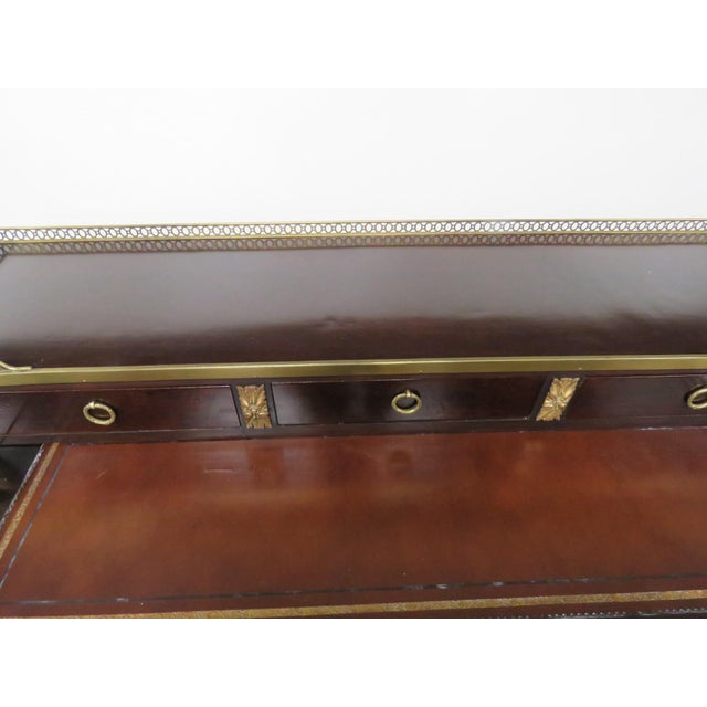 Mid 20th Century French Empire Style Desk For Sale - Image 5 of 12