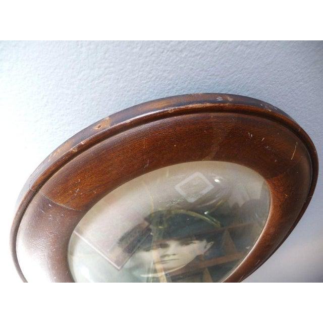 Antique Oval Frame Male Portrait - Image 2 of 4