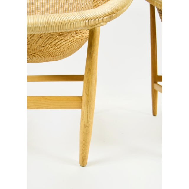 """1970s Nanna Ditzel Vintage """"The Ditzel"""" Chair For Sale - Image 5 of 10"""