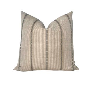 Tan Brown Poncho Pillow Cover