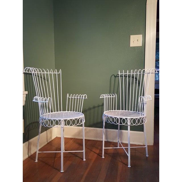 Iron Armchairs by Mathieu Mategot Model Cap d'Ail - A Pair - Image 2 of 11
